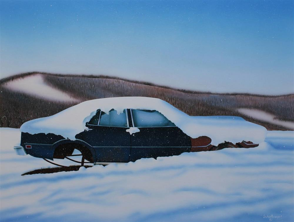 """Frozen & Forgotten"" original fine art by Fred Schollmeyer"