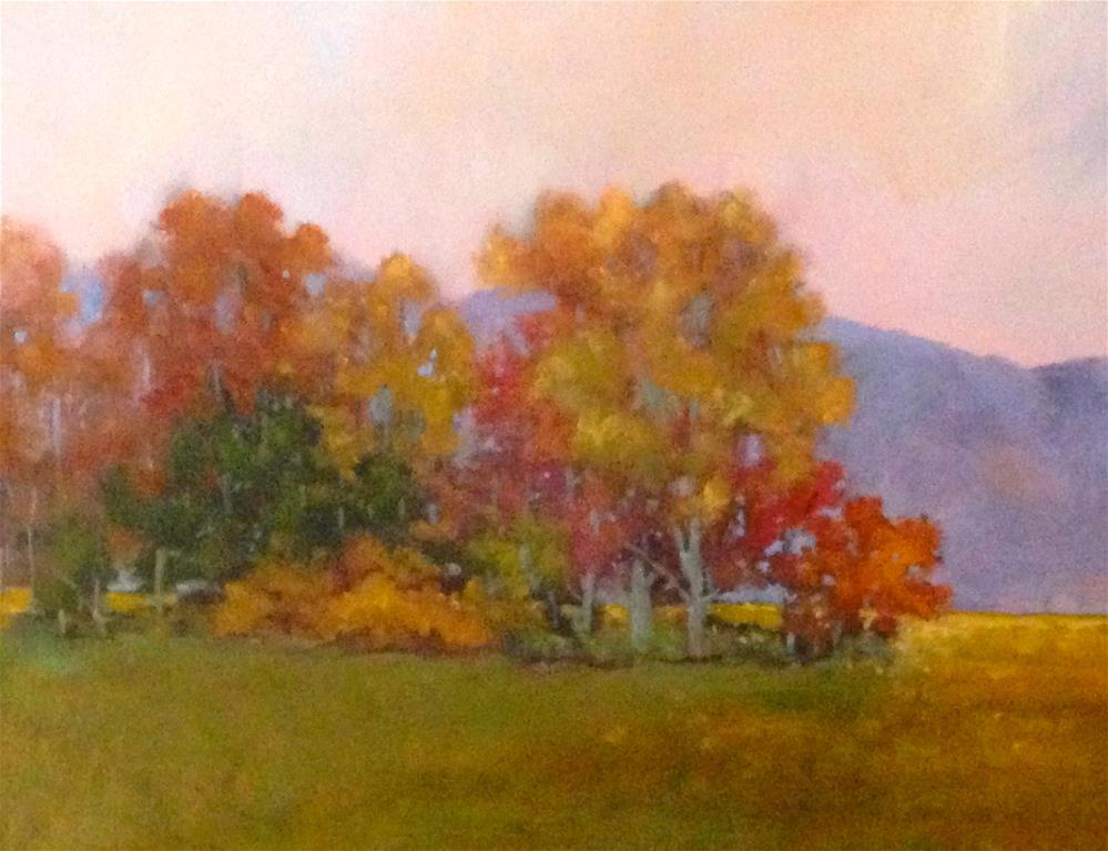 """fall foliage"" original fine art by Betty Argiros"