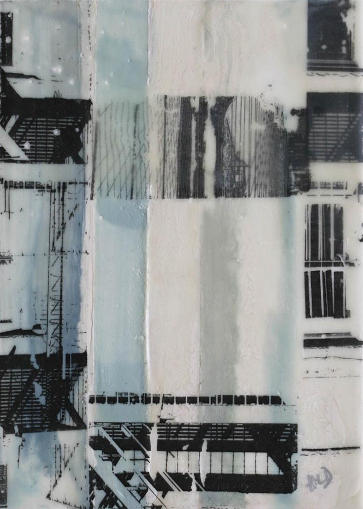 """City Fragments"" original fine art by Heather Douglas"