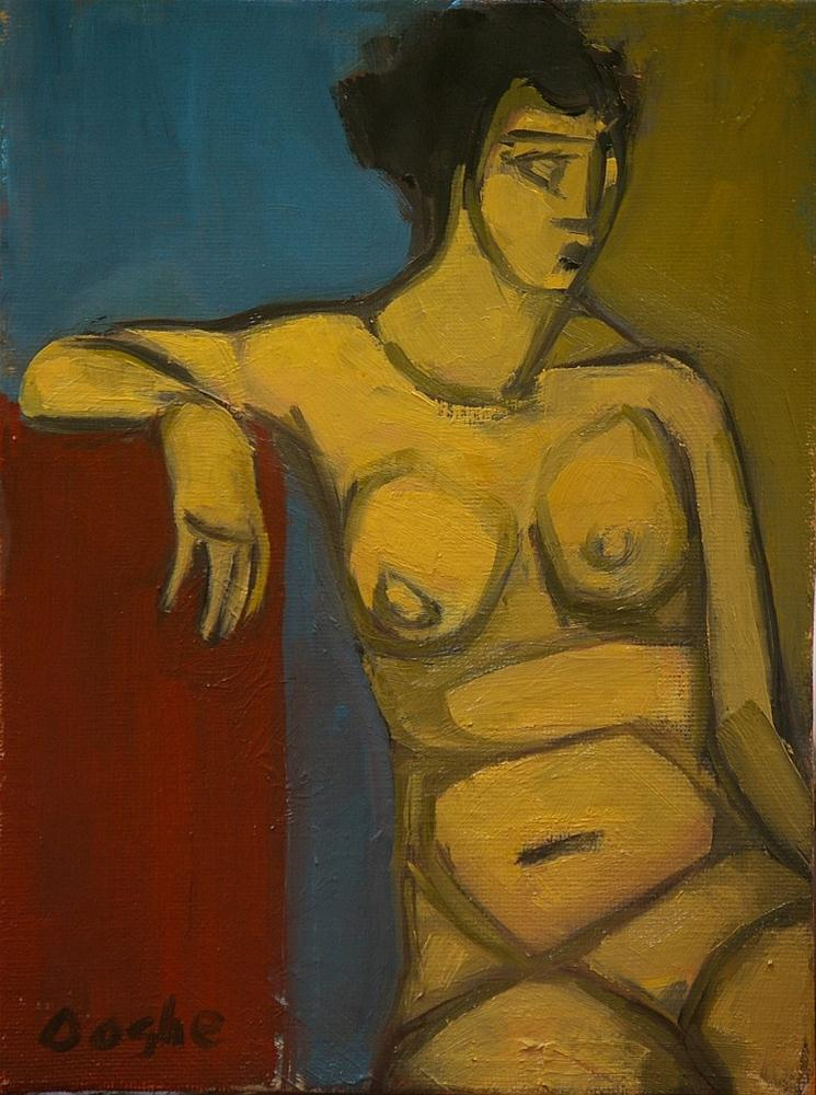 """""""Nude Shapes"""" original fine art by Angela Ooghe"""