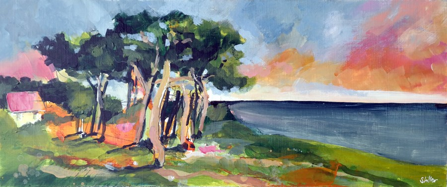 """2870 Denmark Coast"" original fine art by Dietmar Stiller"