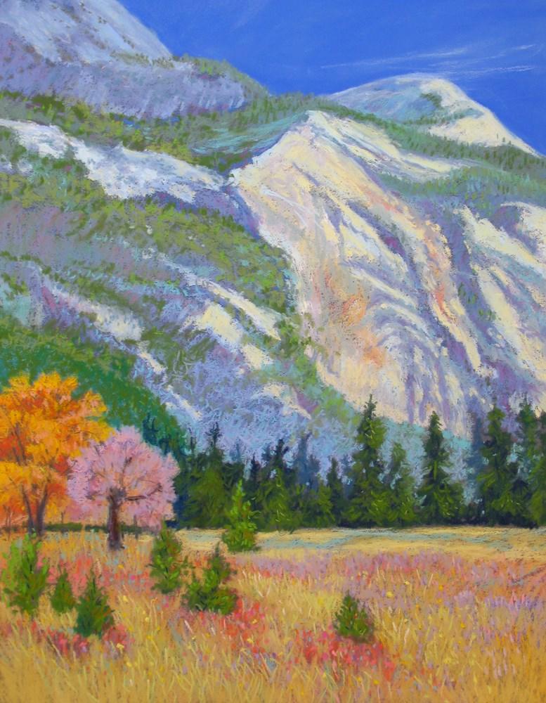"""The Sheer Cliffs of Yosemite"" original fine art by Rhett Regina Owings"