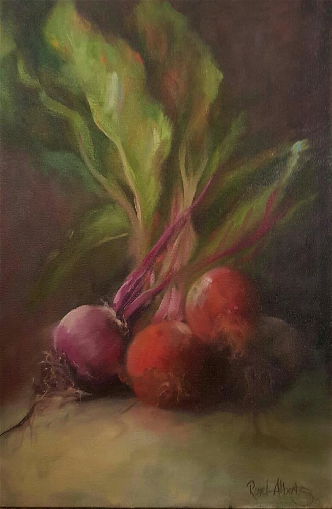 """""""BEETROOT FAMILY"""" original fine art by Ronel Alberts"""