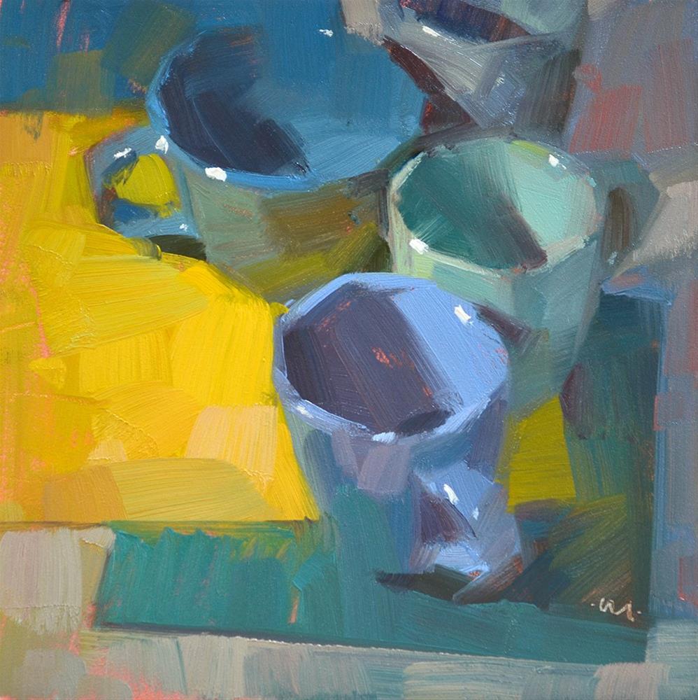 """Cool Cups"" original fine art by Carol Marine"