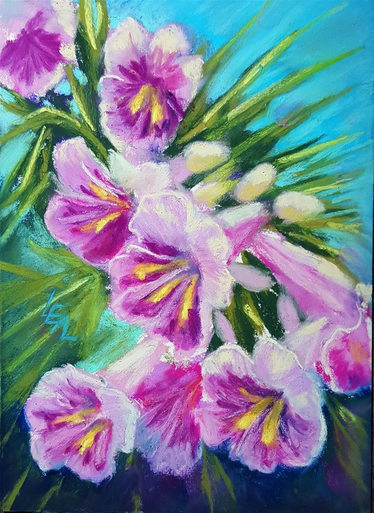 """Desert Willow"" original fine art by Anna Lisa Leal"
