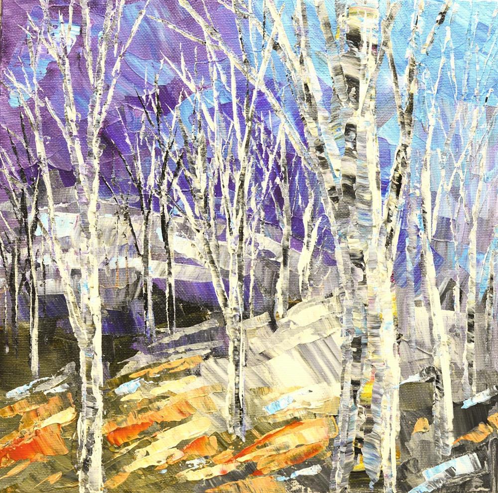 """Bright Path"" original fine art by Tatiana Iliina"