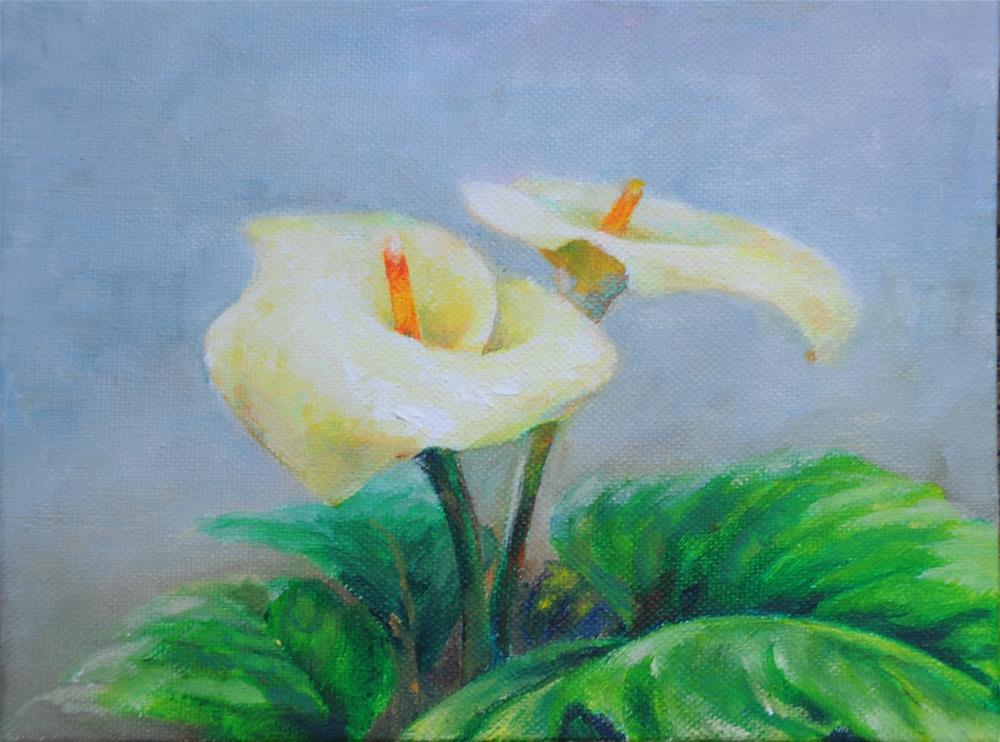 """""""lily"""" original fine art by Joy Cai"""