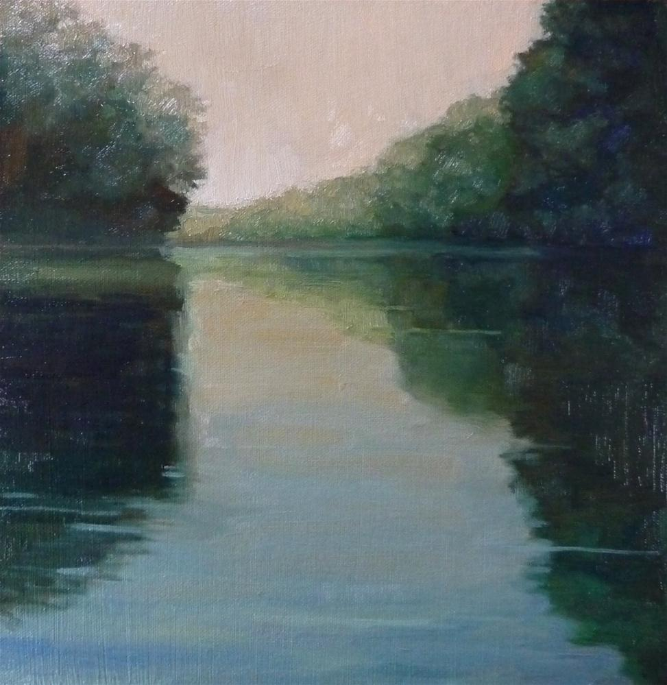"""On the River"" original fine art by Lisa Kyle"