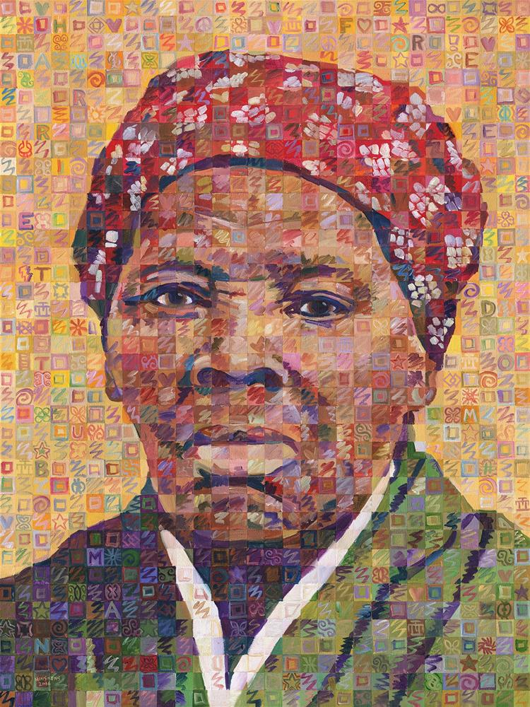 """""""Voices Of Freedom – Harriet Tubman"""" original fine art by Randal Huiskens"""
