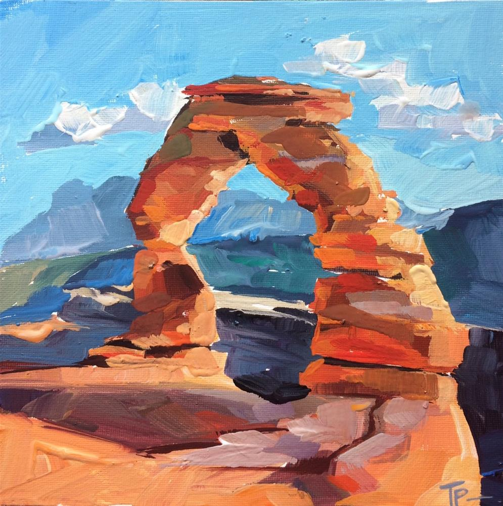 """Arches National Park"" original fine art by Teddi Parker"