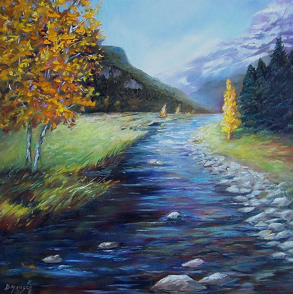 """""""Spotlight Landscape"""" original fine art by Donna Munsch"""
