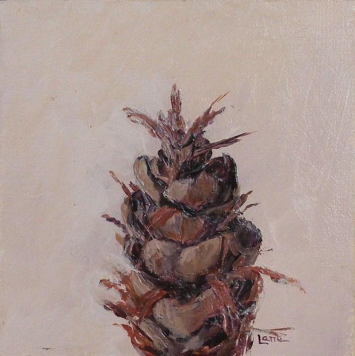 """LITTLE CONE"" original fine art by Saundra Lane Galloway"
