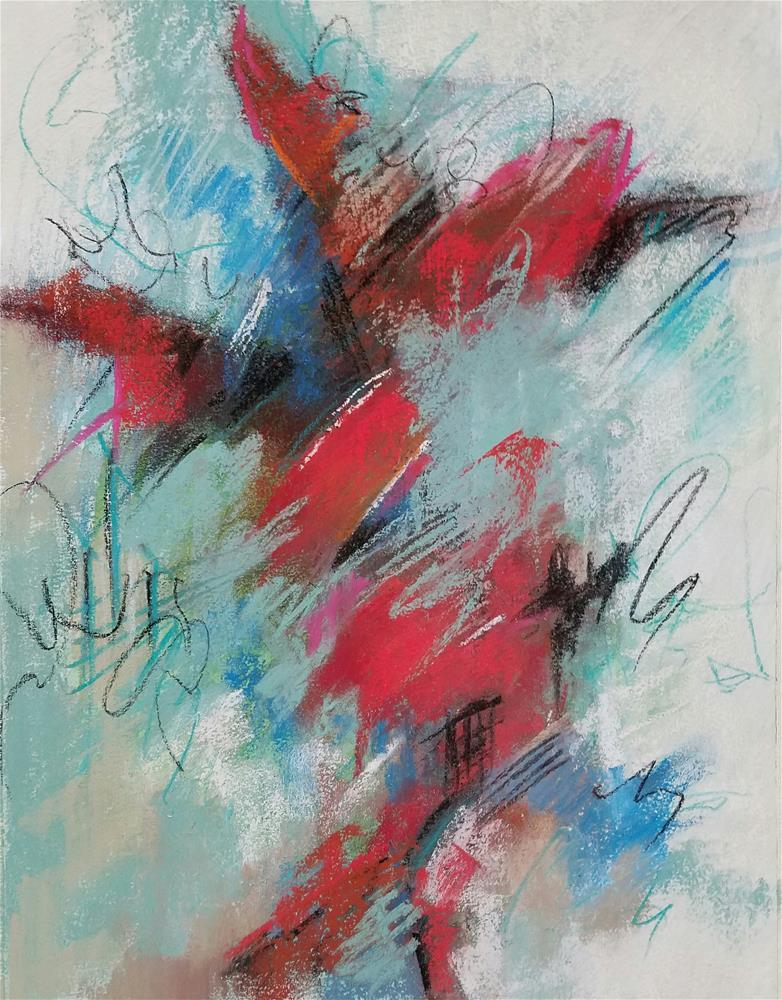 """""""Free Spirit"""" original fine art by Cindy Haase"""