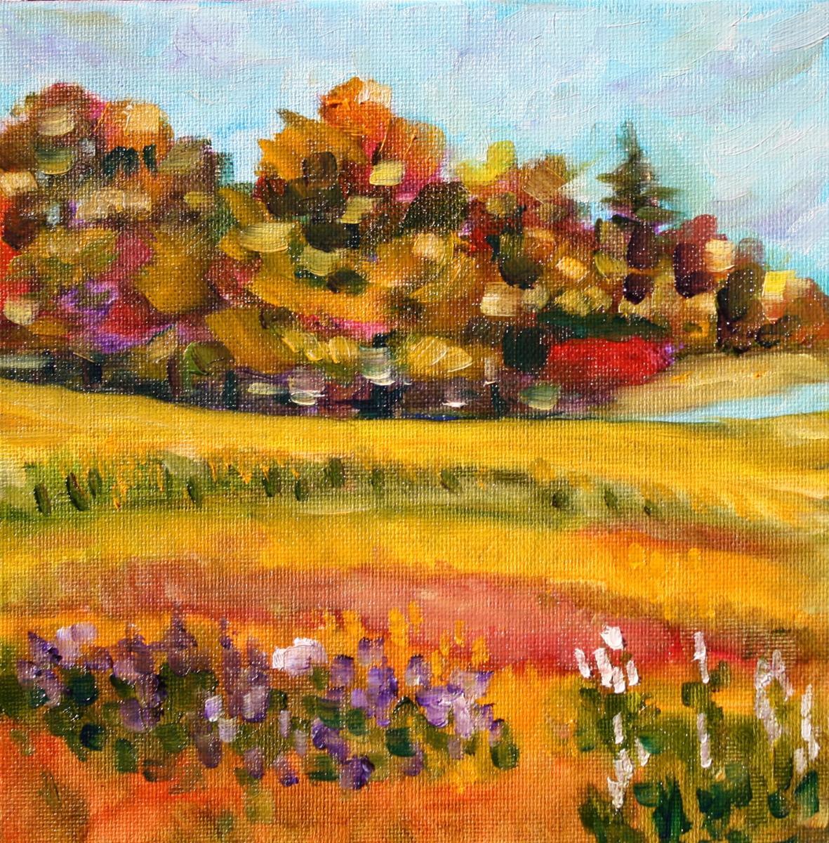 """""""Concord, MA"""" original fine art by Maggie Flatley"""