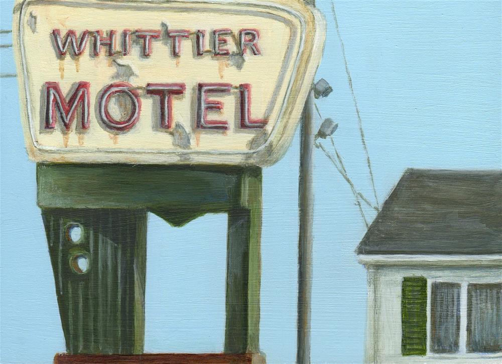 """Whittier"" original fine art by Debbie Shirley"