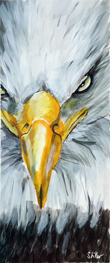 """2527 Eagleeye"" original fine art by Dietmar Stiller"