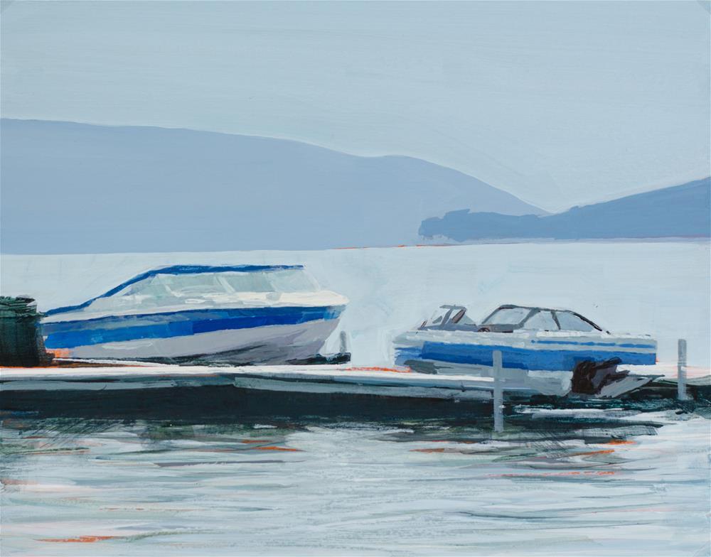 """Canandaigua Lake"" original fine art by Chris Breier"