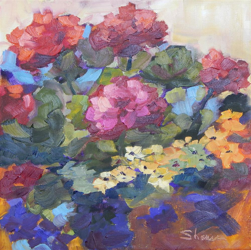 """Painting Pots"" original fine art by Shawn Deitch"