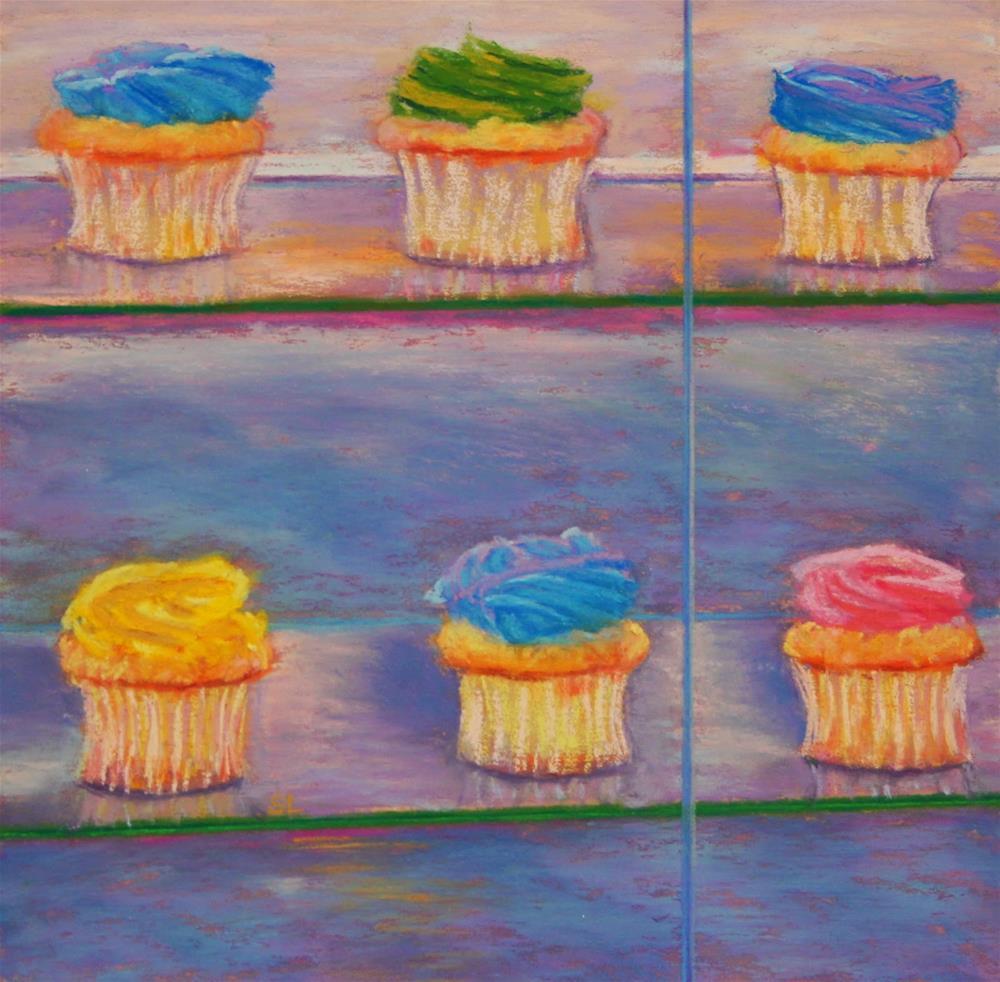 """Sweet Treats"" original fine art by Sharon Lewis"
