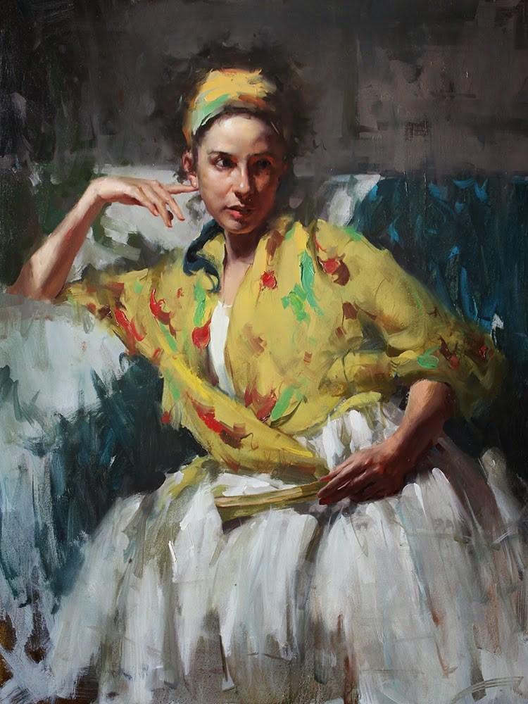 """Figure 05-07-2014"" original fine art by Fongwei Liu"