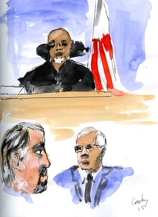 """More Trial Sketches"" original fine art by Donna Crosby"