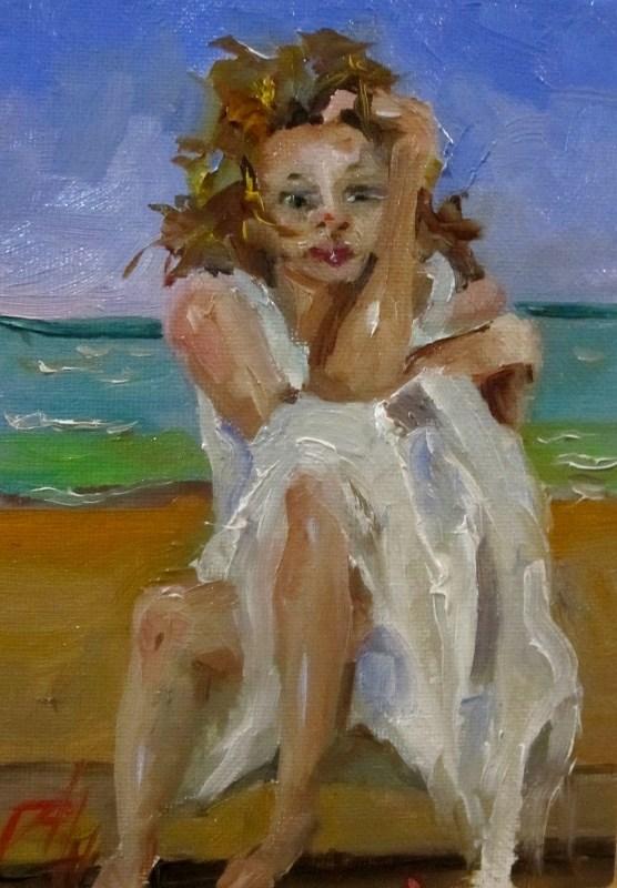 """Ocean Breeze"" original fine art by Delilah Smith"