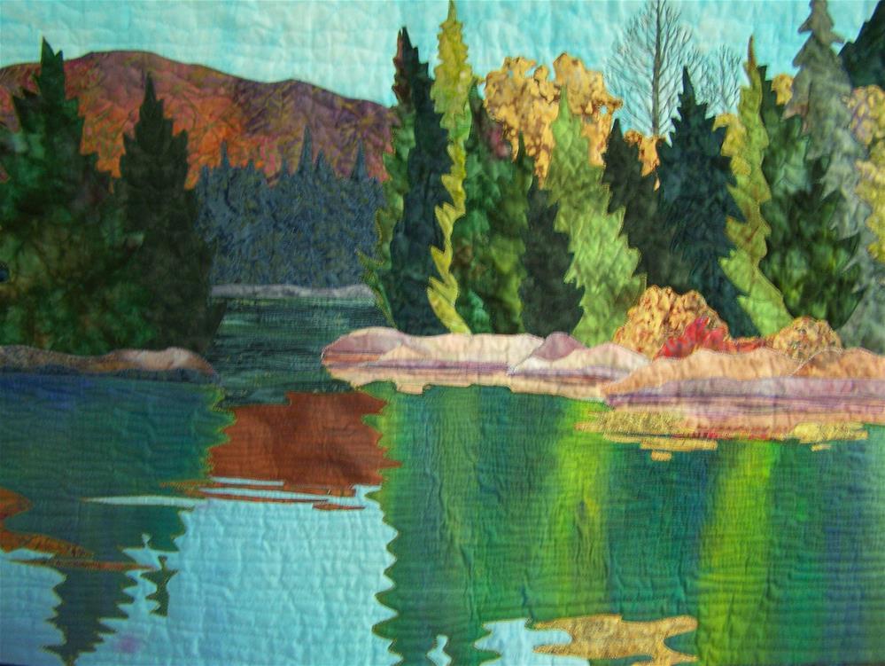 """""""Still Waters #2"""" original fine art by Joan Reive"""
