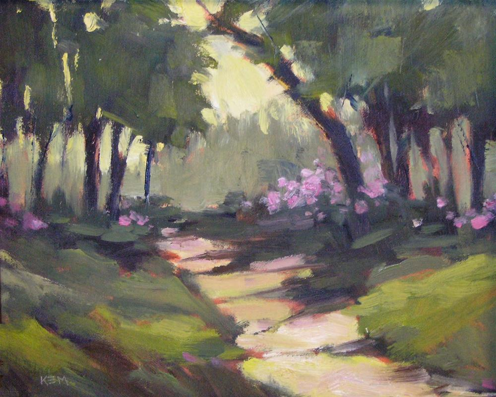 """""""What I Have Learned from the Limited Palette Challenge"""" original fine art by Karen Margulis"""