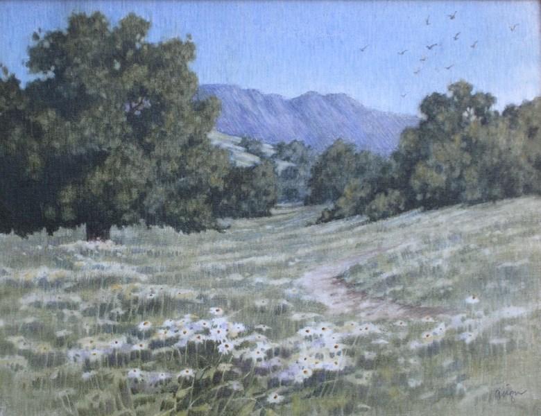 """""""East of Oakmont"""" original fine art by Ginger Pena"""
