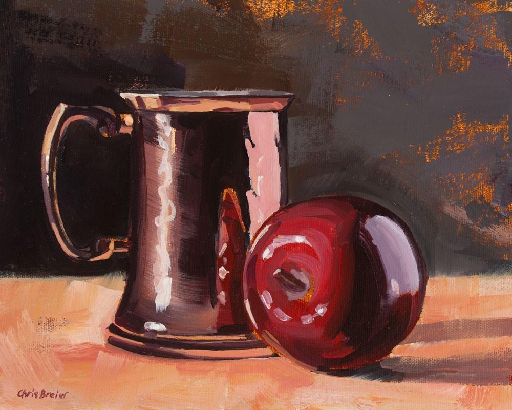 """Apple Cider"" original fine art by Chris Breier"