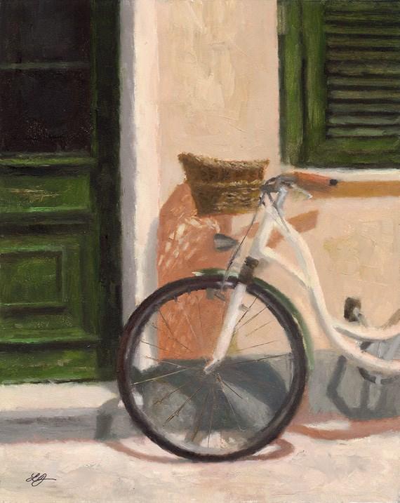 """Just Resting"" original fine art by Linda Jacobus"