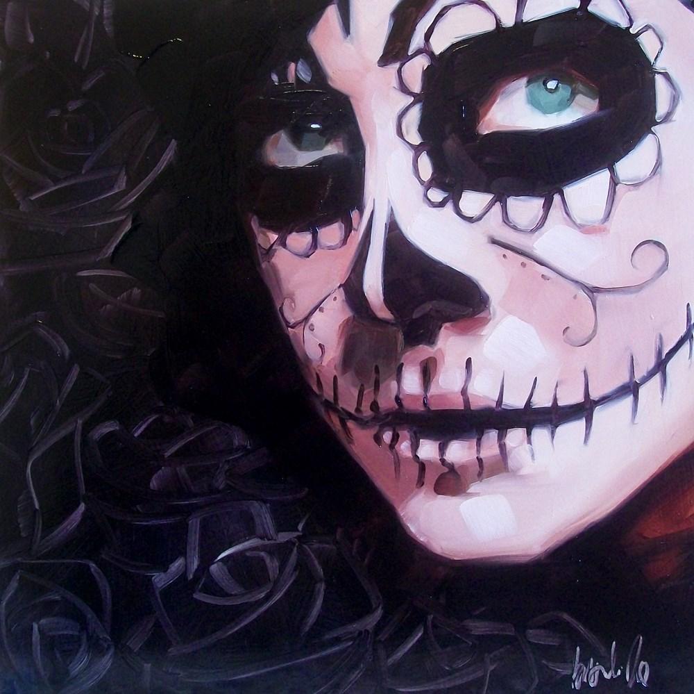 """Dahlia"" original fine art by Brandi Bowman"