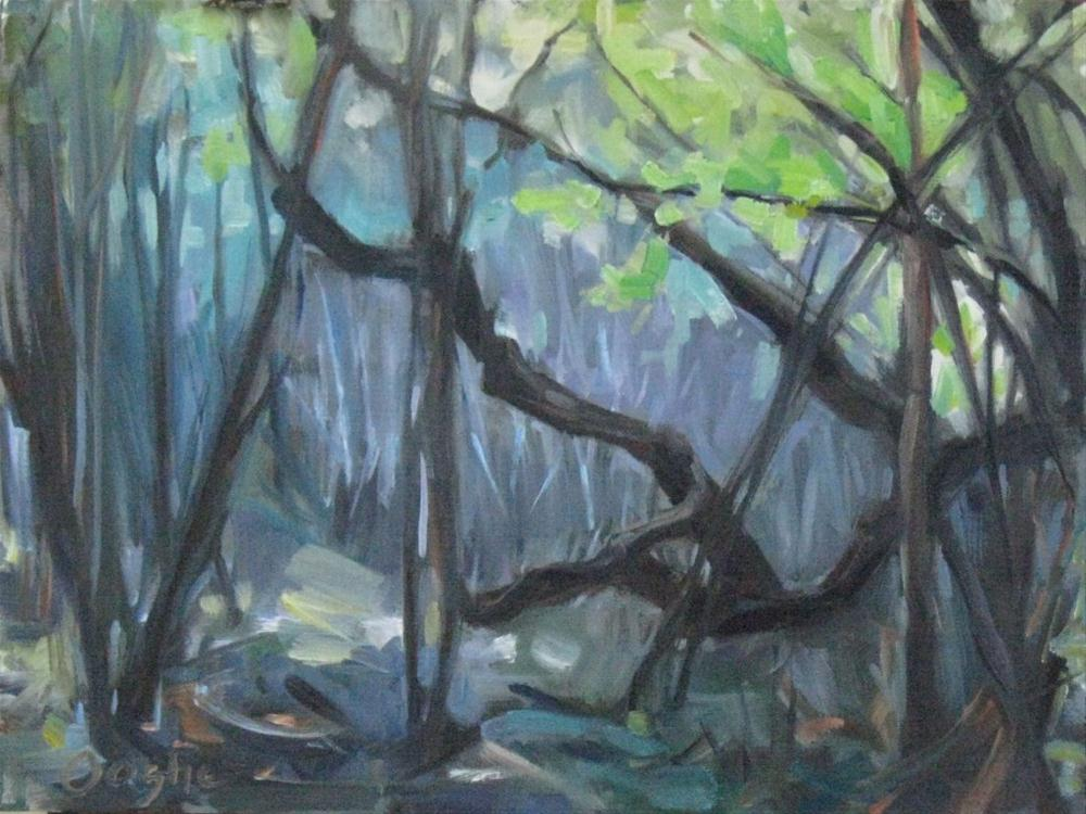 """""""Tangled Forest"""" original fine art by Angela Ooghe"""