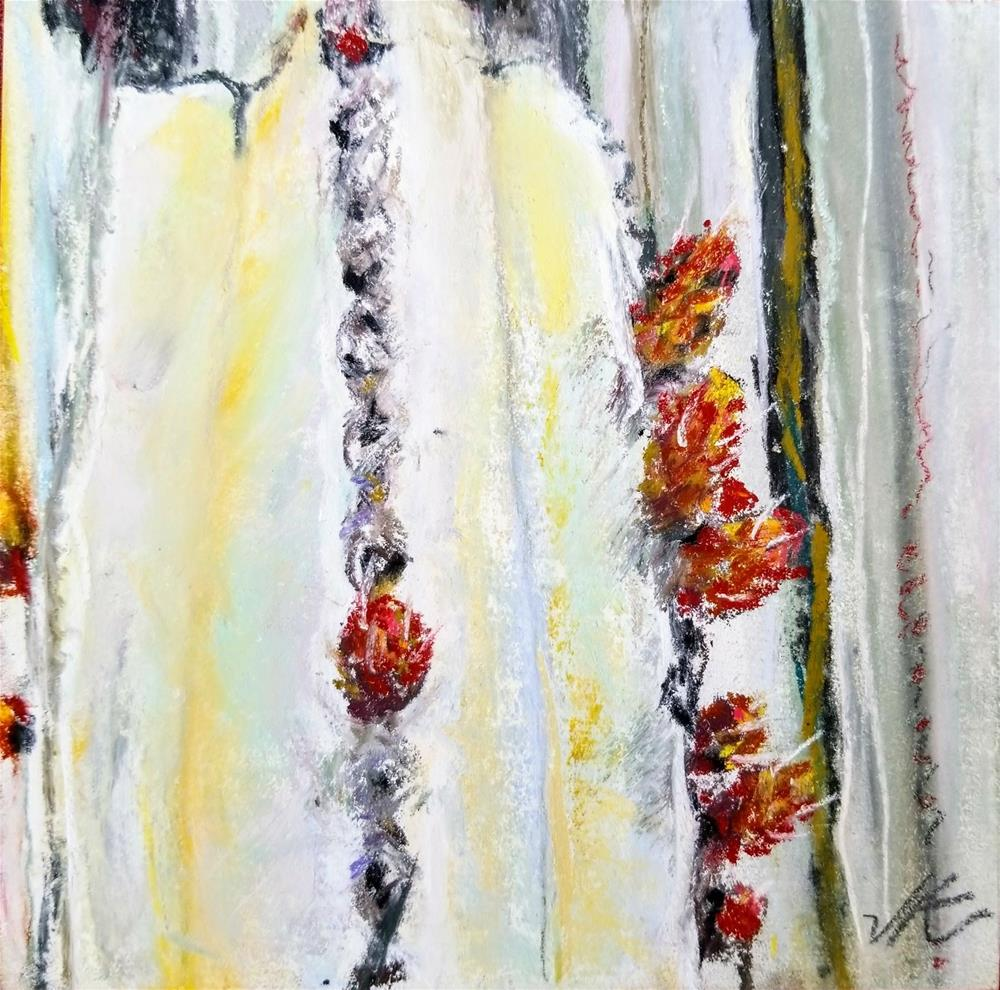 """Cactus Detail"" original fine art by Jean Krueger"