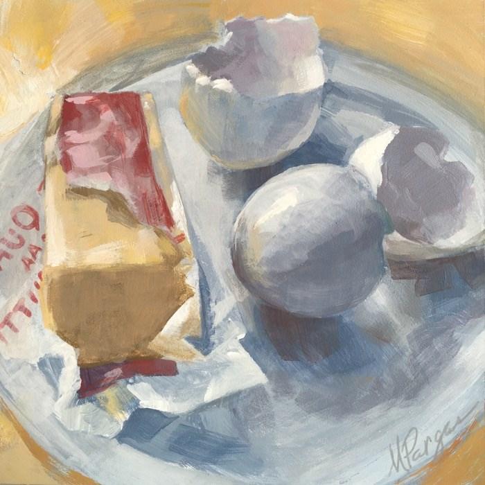 """Good Start"" original fine art by Mary Pargas"
