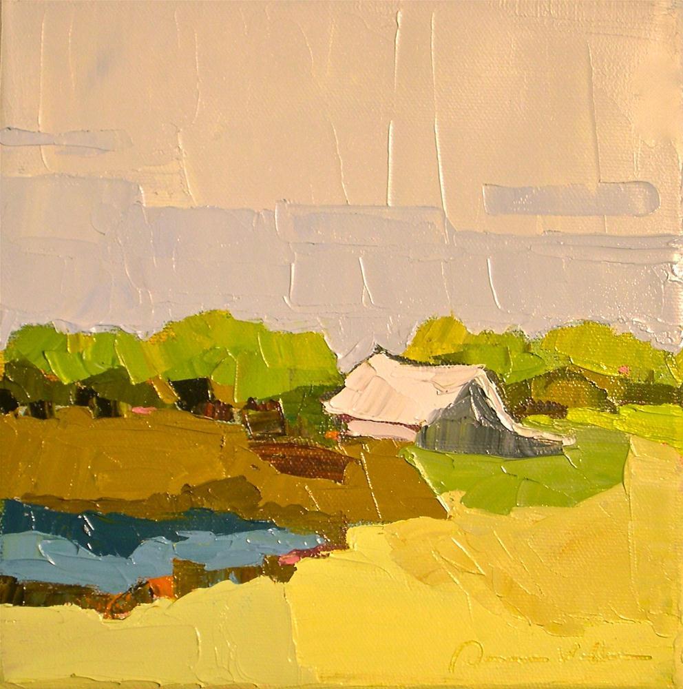 """The Simple Life"" original fine art by Donna Walker"