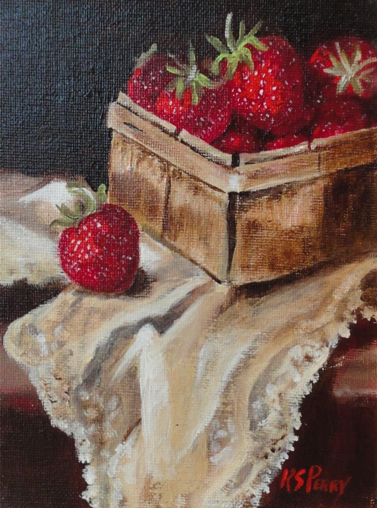 """Tasty Treasures "" original fine art by R. S. Perry"