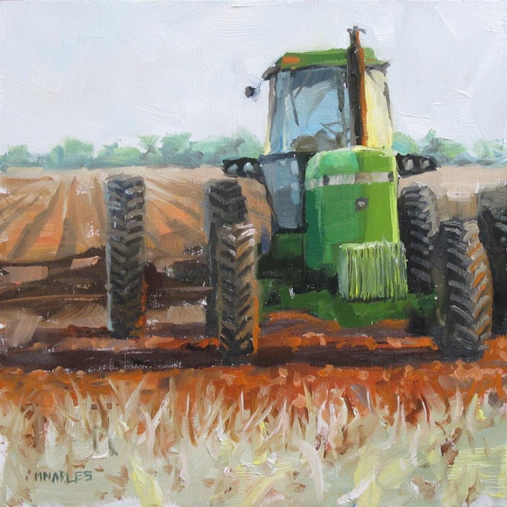 """Early Morning Harvest"" original fine art by Michael Naples"