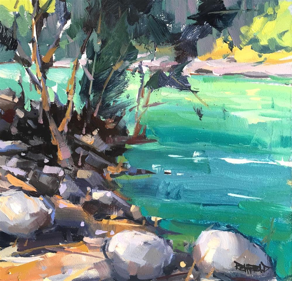 """Summer Color"" original fine art by Cathleen Rehfeld"
