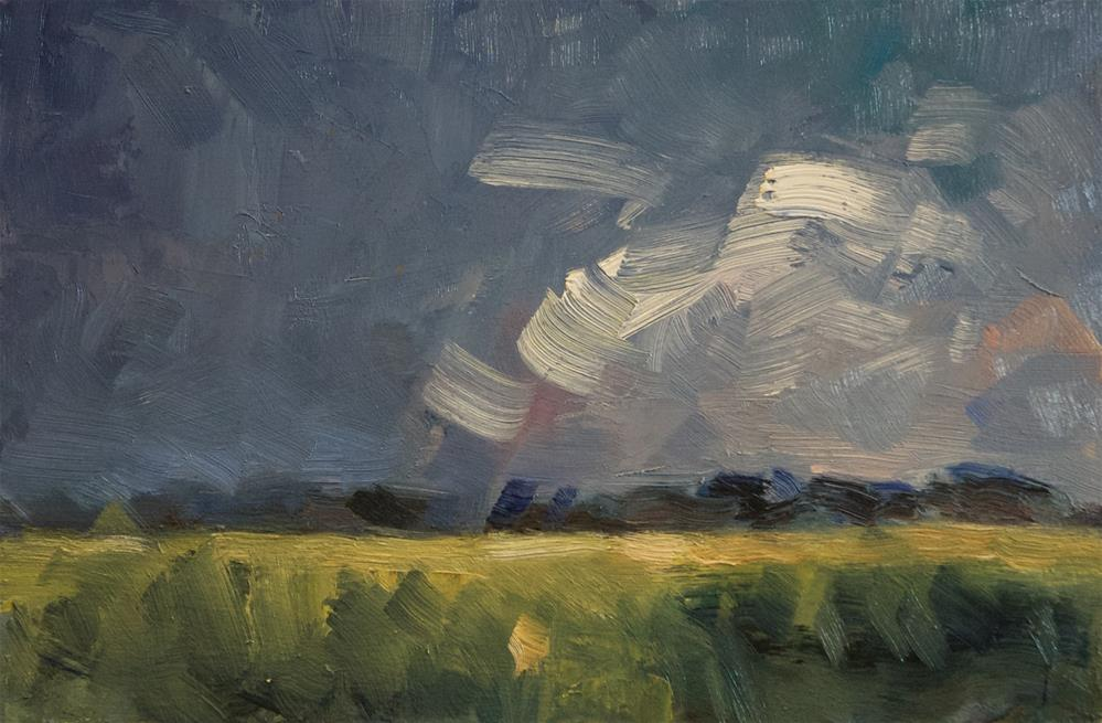 """""""Whips Clouds"""" original fine art by Andre Pallat"""