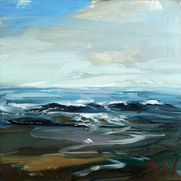 """Nordsee"" original fine art by Jurij Frey"