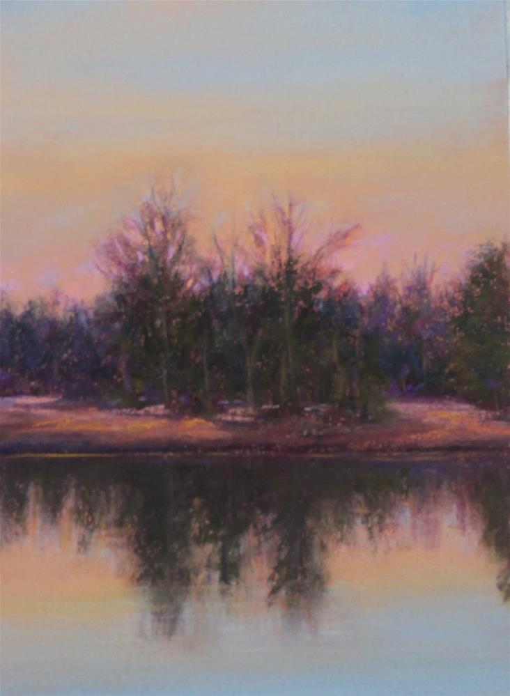 """Twilight at Panola"" original fine art by Sharon Lewis"