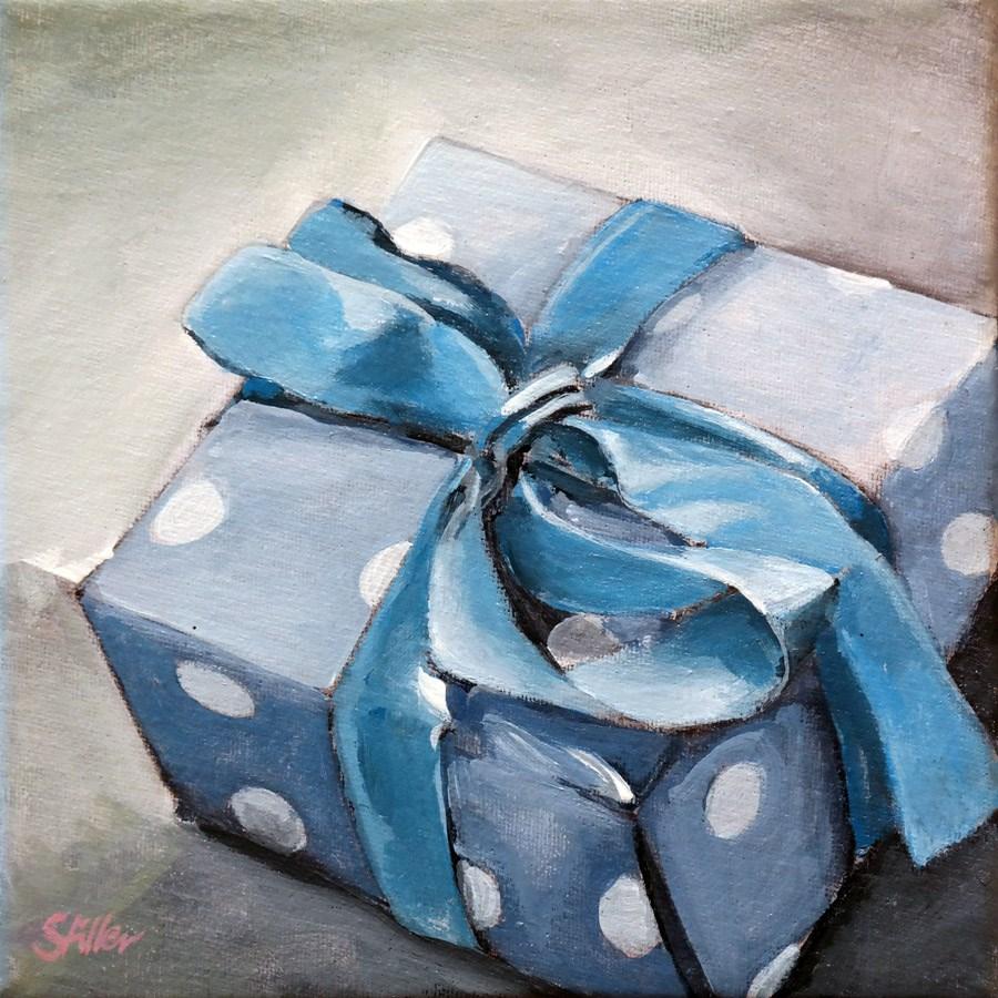 """1591 The Gift"" original fine art by Dietmar Stiller"