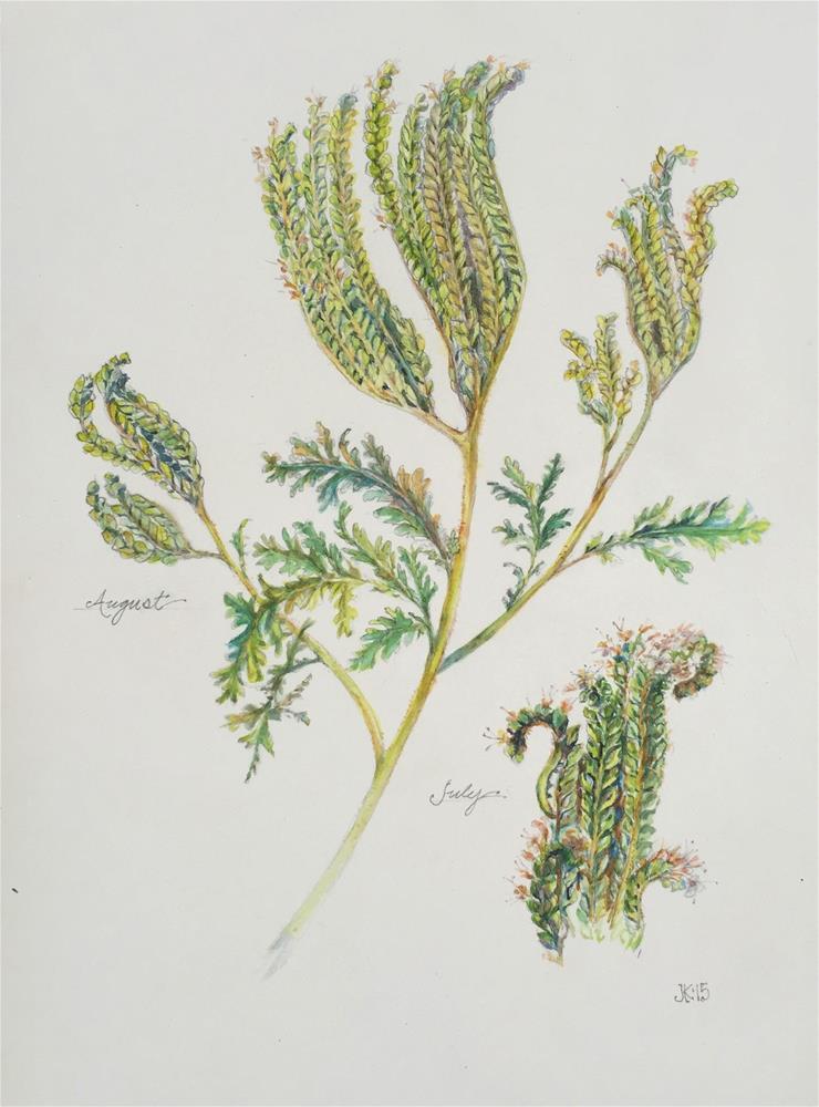 """""""Botanical - Species Unknown"""" original fine art by Jean Krueger"""