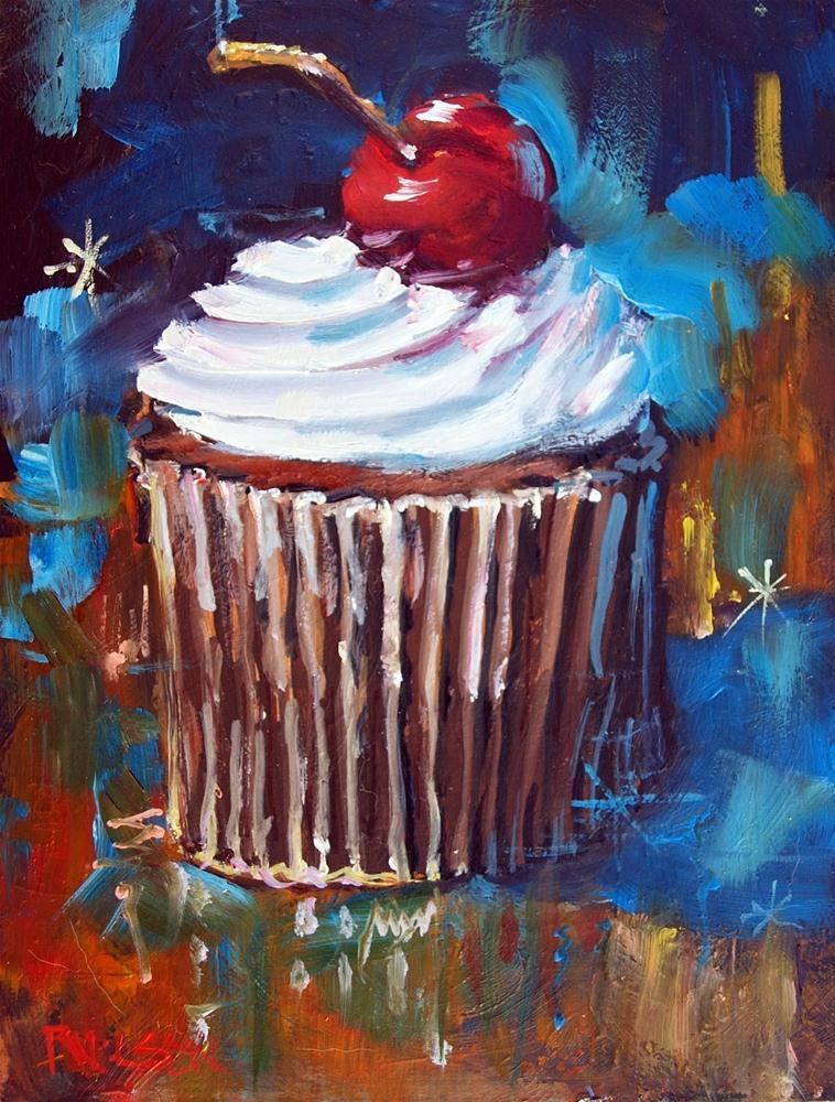 """""""Dream Cake"""" original fine art by Rick Nilson"""