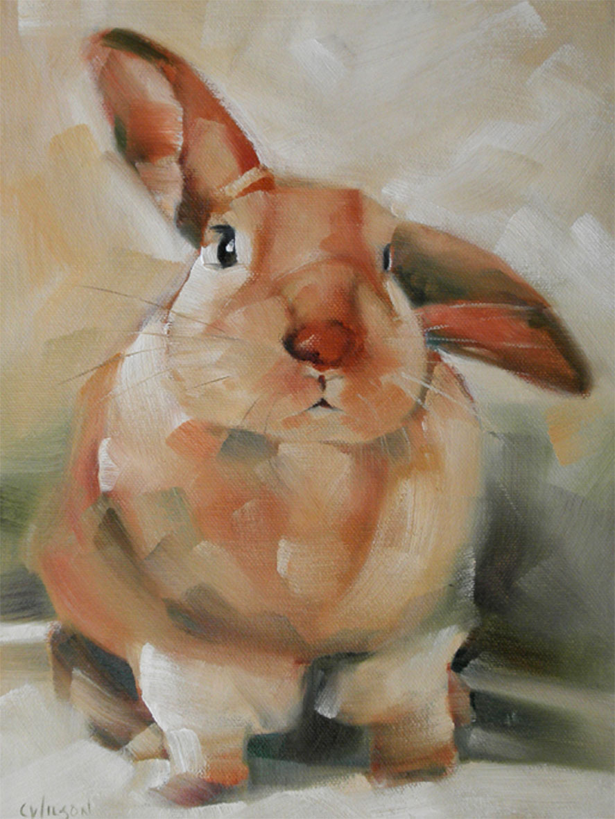 """Scratch"" original fine art by Cheryl Wilson"