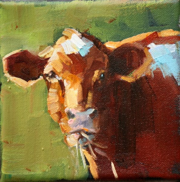 """snack time"" original fine art by Carol Carmichael"