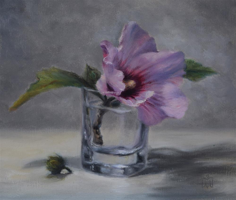 """Rose of Sharon"" original fine art by Melissa  Imossi"