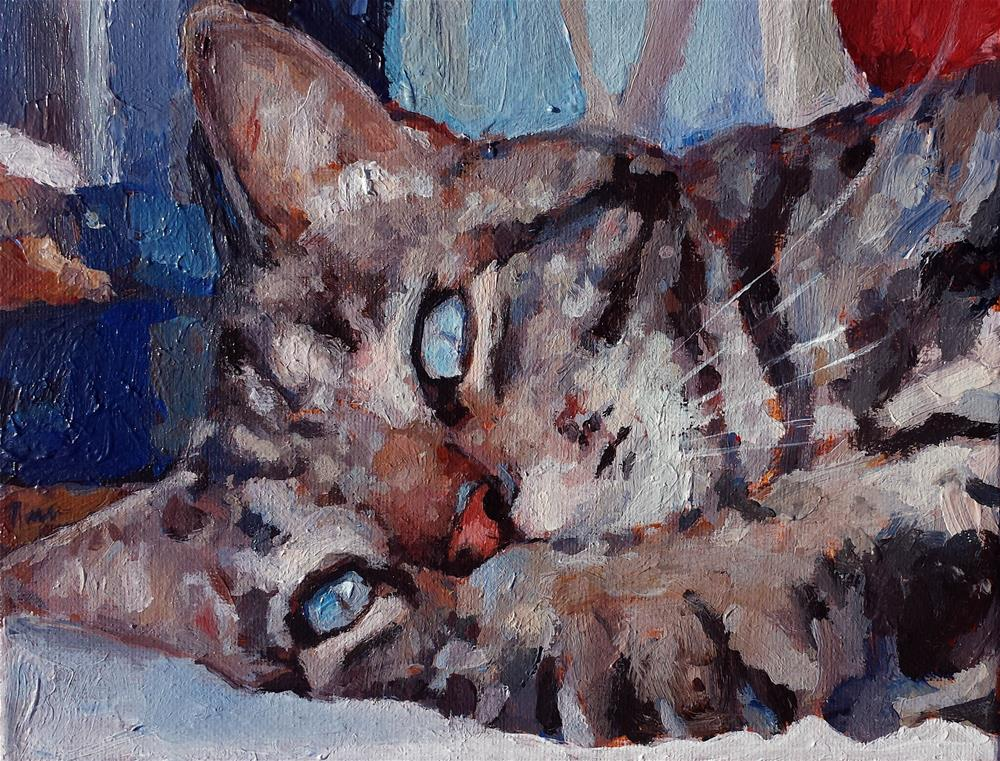 """Gizmo"" original fine art by Nava Judith"
