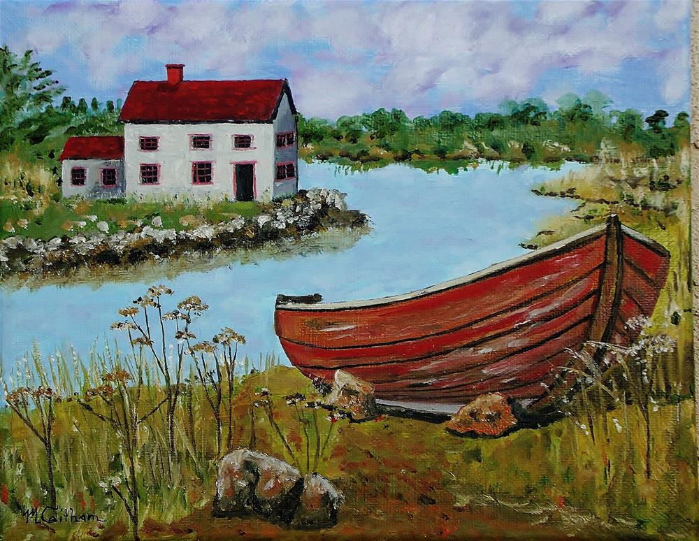 """Retired"" original fine art by Mike Caitham"